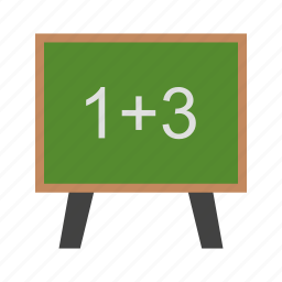 board, calculating, calculation, education, mathematics icon