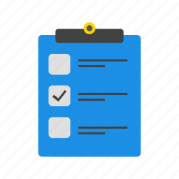 check list, document, file, list icon