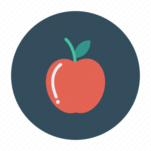 apple, diet, food, fruit, health, nature, vegetable icon