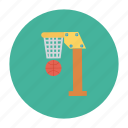 ball, basket, basketball, game, ring, sports, teams icon