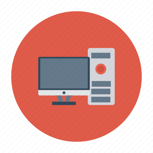 business, chip, computer, device, display, micro, office icon