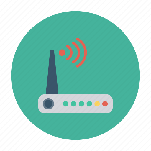 cable, connection, modem, network, router, wifi, wireless icon