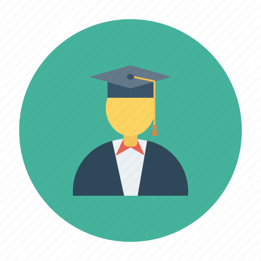 education, lecturer, level, master, phd, professor icon