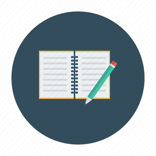 book, education, notebook, open, openbook, reading, study icon