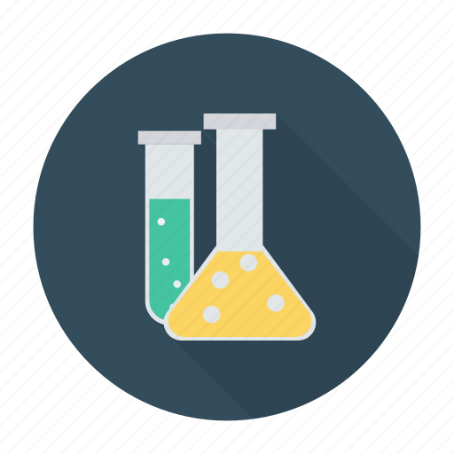 bottles, chemistry, labjars, laboratory, practical, science, test icon