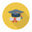 certificate, doctorcertificate, document, education, graduation, identity, medal icon