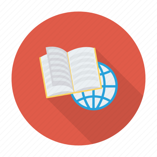 book, earth, education, glob, internet, online, world icon