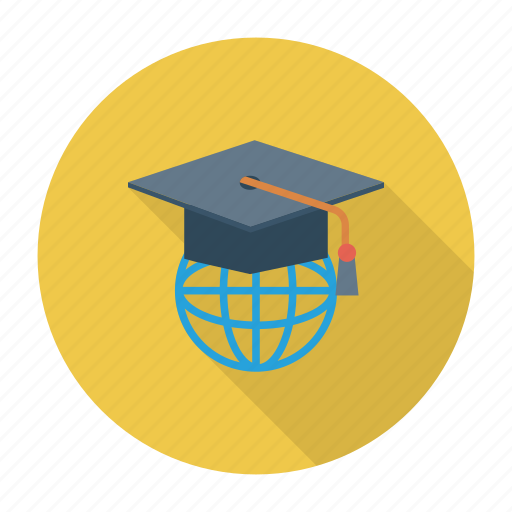 country, education, global, learning, lessons, study, university icon