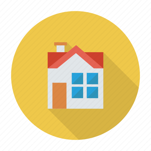building, estate, home, house, real, sale, village icon