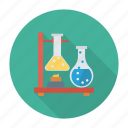 chemistry, experiment, lab, laboratory, research, school, science icon