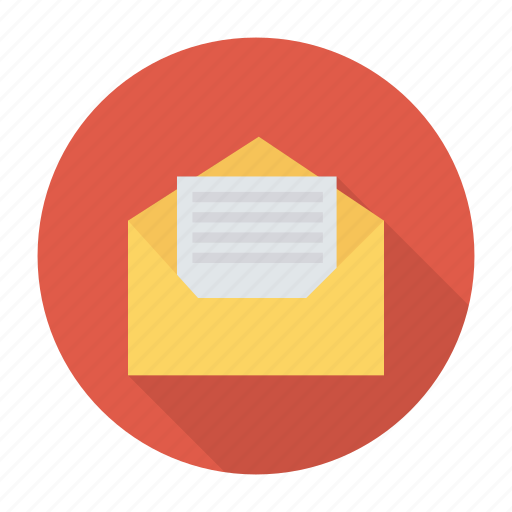 business, email, envelope, letter, mail, openmail, post icon
