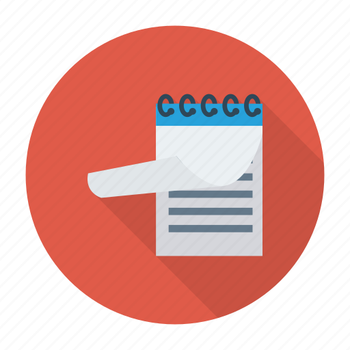 clipboard, education, note, notepad, pad, paper, writingpad icon