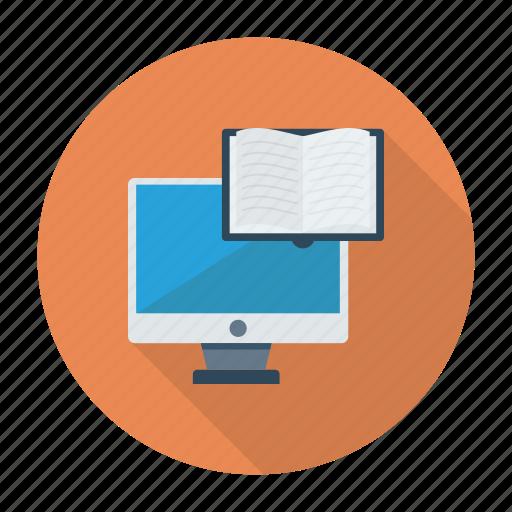 books, development, java, online, onlinebooks, onlinestudy, web icon