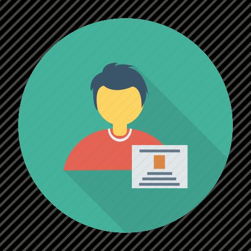avatar, education, graduate, learning, school, student, study icon
