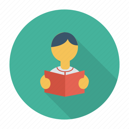 biology, education, learning, library, reading, student, study icon