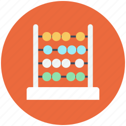 abacus, calculate, math, mathematics icon icon