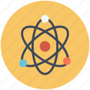 atom, physics, quantum, science icon icon