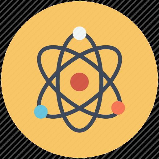 atom, physics, quantum, science icon icon