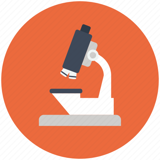 biological, lab, laboratory, medical, microscope, research, science icon, scientific icon
