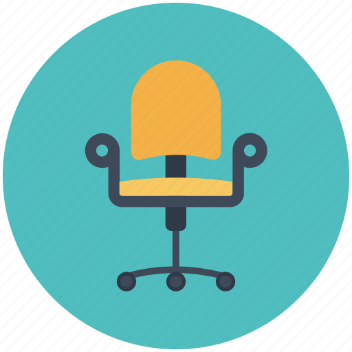 chair, furniture, office, seat icon icon