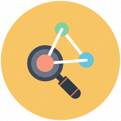 chemistry, formula, research, science icon, search icon