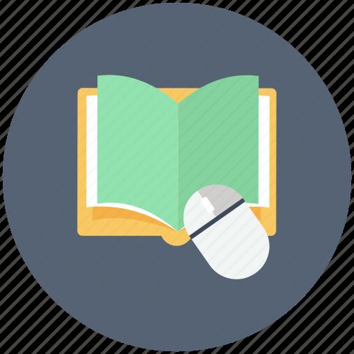 bible, book, handbook, manual icon, mouse icon