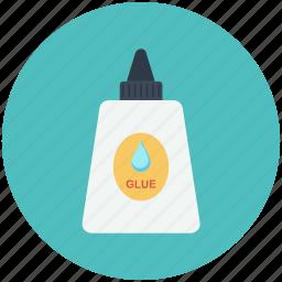 classroom, glue, tool, tools icon icon