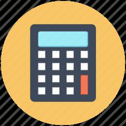 calculation, calculator, count, education, math, mathematics, seo icon icon