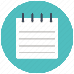 compose, edit, list, notepad, notes, paper, pencil, write icon icon
