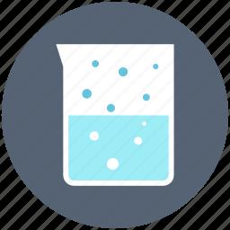 jug, jug scale, lab jar, measuring jug icon, • beaker icon