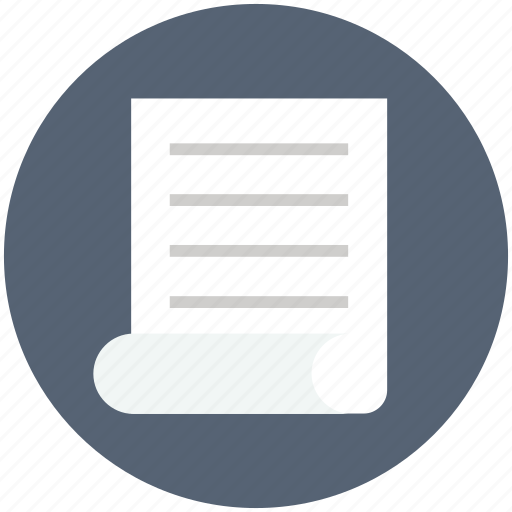 document, documents, letter, message, note, paper icon, text icon