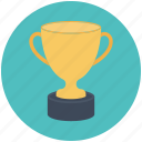 trophy icon, medal, achievement, award, trophy, win, cup