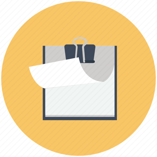 notepad, paper, write icon icon