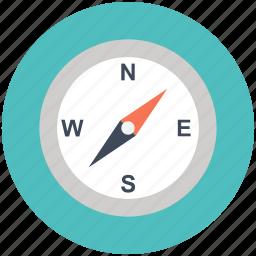 compass, direction, direction tool, location, pin, pointer, safari icon icon