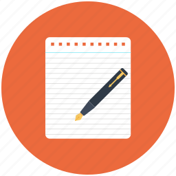 draw, note, paper, pen, pencil, sheet, writing icon icon