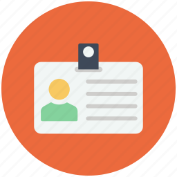 id, identity card, identity document icon icon