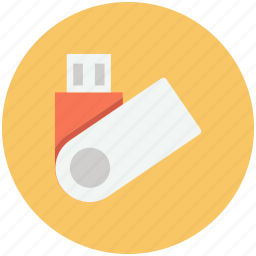 drive, flash, memory, stick, storage, usb icon, • data icon