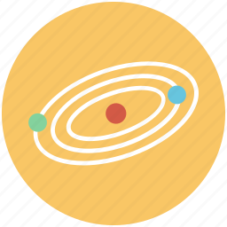 astrology, astronomy, cosmos, jupiter, planet, planets, saturn, uranus icon