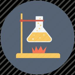 experiment, lab, laboratory, science icon icon