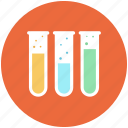 chemical, lab, laboratory, medical, research, test, tube icon icon