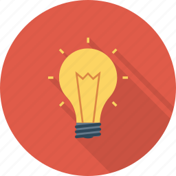 energy, idea, light, lightbulb icon icon