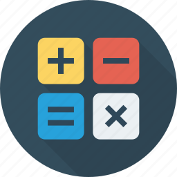 calculate, calculation, calculator, math icon icon