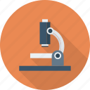 laboratory, microscope, research, science ico icon