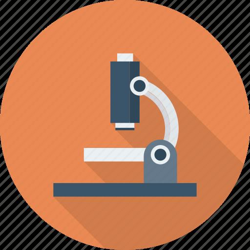 laboratory, microscope, research, science ico icon