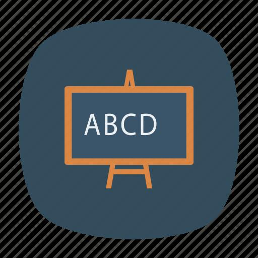 blackboard, board, business, chalkboard, presentation, schoolboard, whiteboard icon