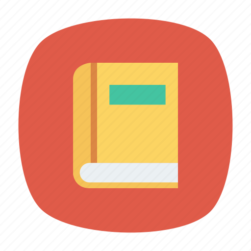 book, education, journal, library, office, stationary, student icon