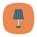 bulb, desk, energy, floorlamp, furniture, lamp, light icon