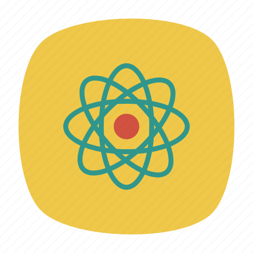 atom, chemistry, education, laboratory, physics, research, science icon