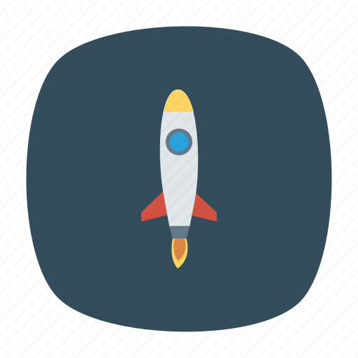 astronomy, launch, launcher, rocket, shuttle, space, startup icon
