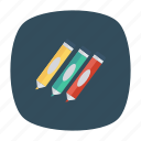 education, highlightmarker, mapmarker, marker, orange, stationery, write icon